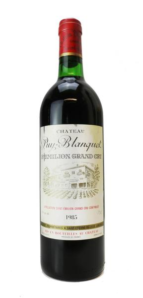 Chateau Puy Blanquet, 1985